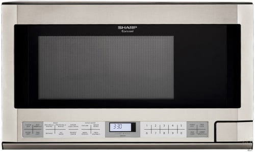 Sharp R121 - Stainless Steel