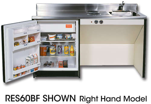 Acme Barrier Free Kitchenettes RESBF - Right Handed
