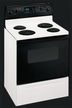 Whirlpool RF365PXMW - White w/ Black Door