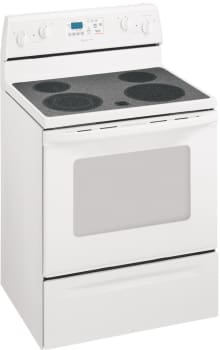 Whirlpool Rf378lxmq 30 Inch Self Cleaning Freestanding Electric Range Accubake Heat Distribution System White