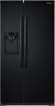 Samsung RS22HDHPNBC - Black Front