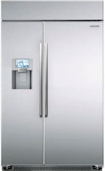 "Samsung RS27FDBTNSR - 48"" Built-In Side-by-Side Refrigerator"