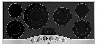 Viking RVEC3456BSB - 45 Inch Electric Cooktop with 6 QuickCook Surface Elements