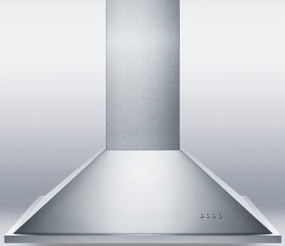 "Summit Professional Series SEIH1536CV3 - 36"" Island Range Hood with 600 CFM"