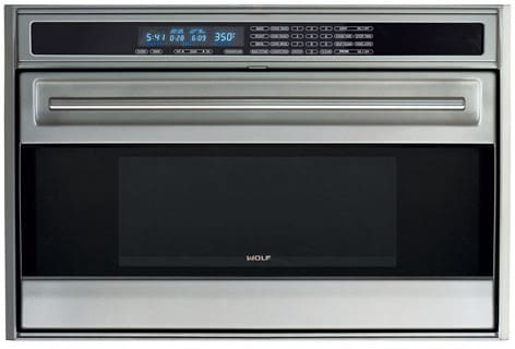 Wolf So36us 36 Inch Single Electric Wall Oven With 4 4 Cu Ft Dual Convection Oven Self Clean 10 Cooking Modes Sabbath Mode Cobalt Blue Interior Star K Certified Sabbath Mode And Rotating Glass Touch