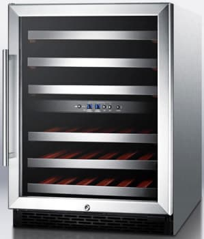 Summit SWC530LBISTADAX - Stainless Steel Cabinet