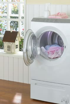 Miele T9800 - Featured View with Optional Laundry Stand