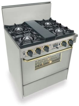 FiveStar TTN275BSW - Stainless Steel with Brass Trim
