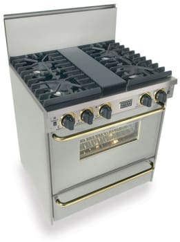 FiveStar TTN2817BSW - Stainless Steel with Brass Trim