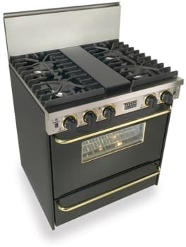 FiveStar TTN2817SW - Black with Brass Trim