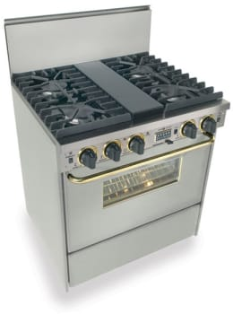 FiveStar TPN287BSW - Stainless Steel with Brass Trim