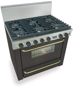 FiveStar TTN3117SW - Black with Brass Trim
