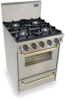 FiveStar TTN4807 - Stainless Steel with Brass Trim