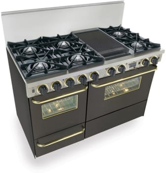 FiveStar TTN5257SW - Black with Brass Trim