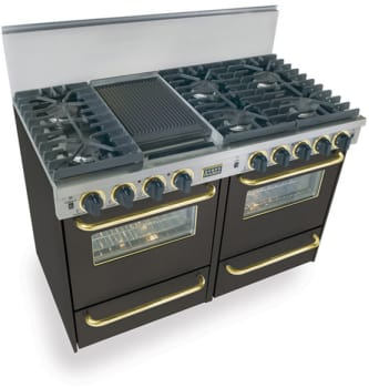 FiveStar TTN5317SW - Black with Brass Trim
