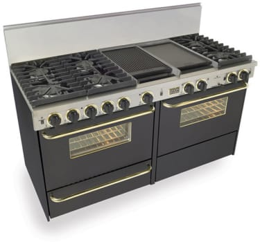 FiveStar TTN6377SW - Black with Brass Trim
