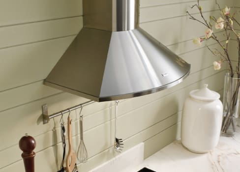 Faber Decorative Collection TEND36SS300 - Tender Wall Chimney Hood