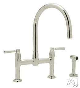 Rohl Perrin and Rowe Contemporary Collection U4273LSSTN2 - Polished Nickel