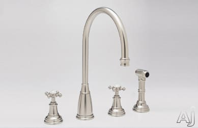 Rohl Perrin and Rowe Traditional Collection U4735XSTN2 - Satin Nickel