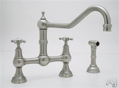 Rohl Perrin and Rowe Traditional Collection U4763XPN2 - Satin Nickel