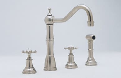 Rohl Perrin and Rowe Traditional Collection U4775XPN2 - Satin Nickel