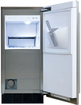 Sub-Zero UC15IO 15 Inch Built-in Outdoor Ice Machine with ...
