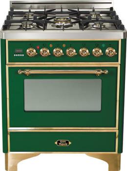 Ilve Majestic Collection UM76DVGGVS - Emerald Green