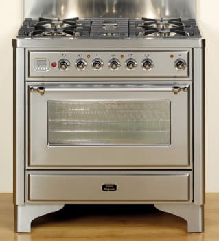 Ilve Majestic Collection UM906MPB - Stainless Steel
