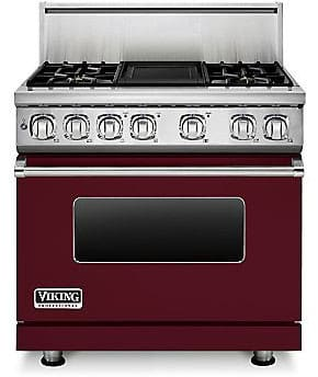 Viking Professional 7 Series VDR7364GBULP - Burgundy