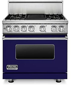 Viking Professional 7 Series VDR7364GCBLP - Cobalt Blue