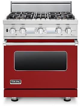 Viking Professional Custom Series VDSC530T4BAR - Apple Red