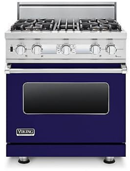 Viking Professional Custom Series VDSC530T4BCBLP - Cobalt Blue