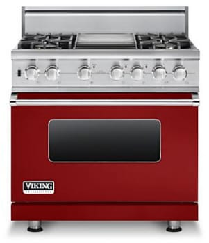 Viking Professional Custom Series VDSC5364GARLP - Apple Red