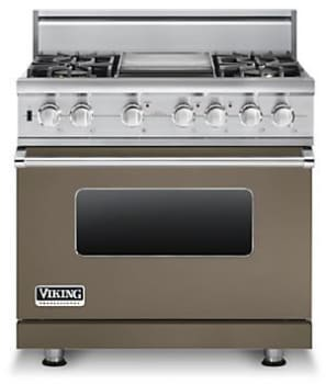 Viking Professional Custom Series VDSC5364GSGLP - Stone Gray