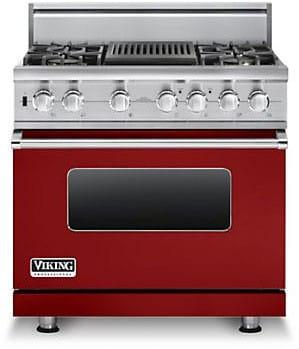 Viking Professional Custom Series VDSC5364QAR - Apple Red