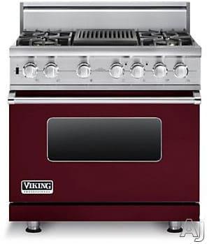 Viking Professional Custom Series VDSC5364QBU - Burgundy
