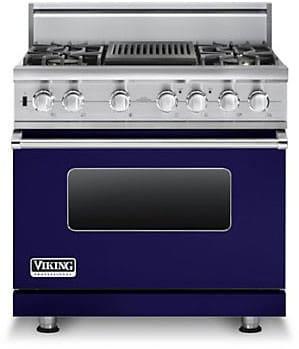 Viking Professional Custom Series VDSC5364QCBLP - Cobalt Blue