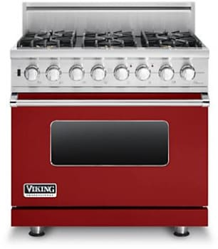 Viking Professional Custom Series VDSC5366BAR - Apple Red