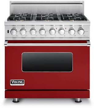 Viking Professional Custom Series VDSC5366BAR - Apple Red