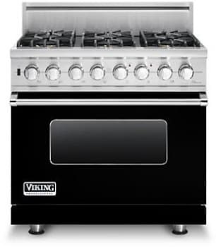 Viking Professional Custom Series VDSC5366BBKLP - Black