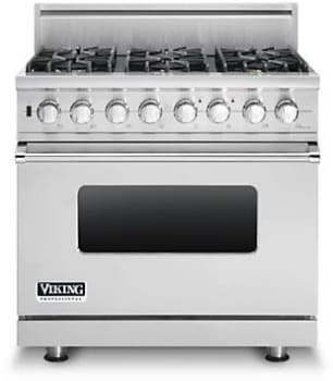 Viking Professional Custom Series VDSC5366BSSLP - Stainless Steel