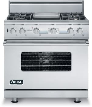 Viking Professional Custom Series VDSC536T4GSS - Stainless Steel
