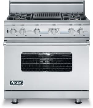 Viking Professional Custom Series VDSC536T4Q - Stainless Steel