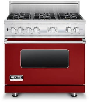 Viking Professional Custom Series VDSC536T6BARLP - Apple Red