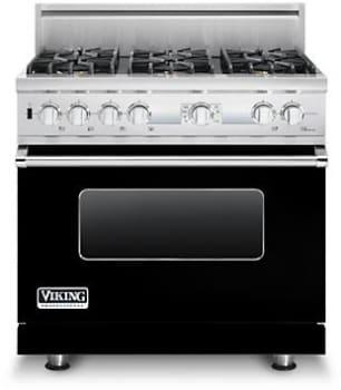 Viking Professional Custom Series VDSC536T6BBKLP - Black