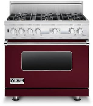 Viking Professional Custom Series VDSC536T6BBULP - Burgundy