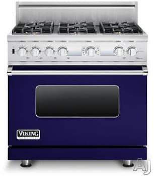 Viking Professional Custom Series VDSC536T6BCB - Cobalt Blue