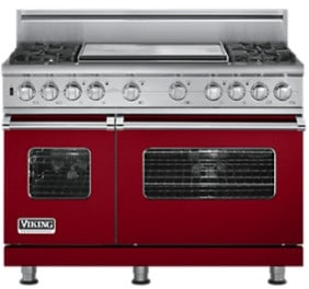 Viking Professional Custom Series VDSC5484G - Apple Red