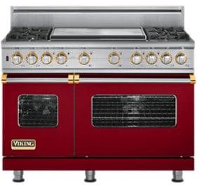 Viking Professional Custom Series VDSC5484GBR - Apple Red
