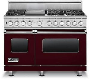 Viking Professional Custom Series VDSC5486GBU - Burgundy